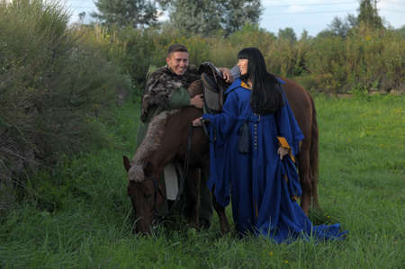 love story in the medieval style