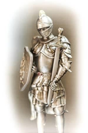 antique knight photo
