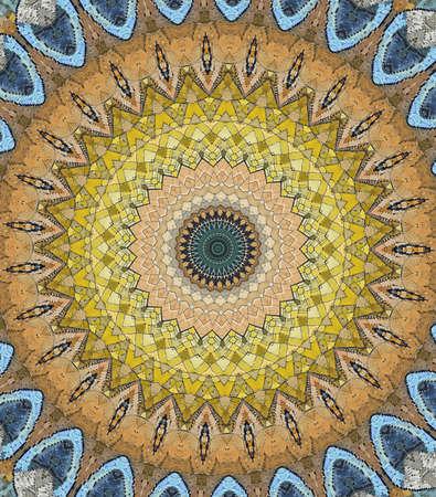 brown circular east ornament photo