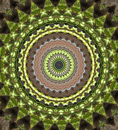 Green mosaic Stock Photo - 11039372