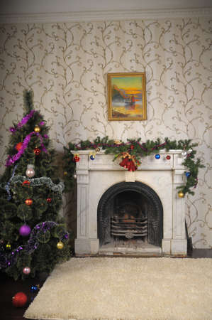 Christmas home decor photo