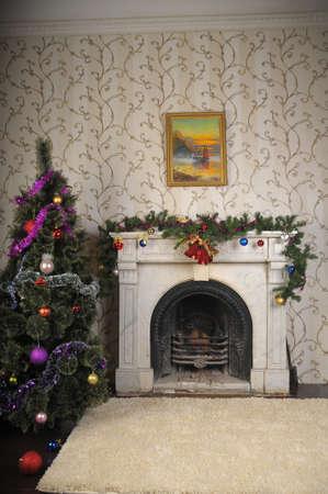 Christmas home decor photo