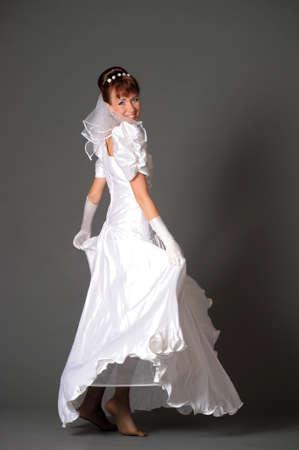 The happy bride  Stock Photo