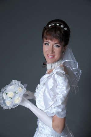 The happy bride Stock Photo - 11038825
