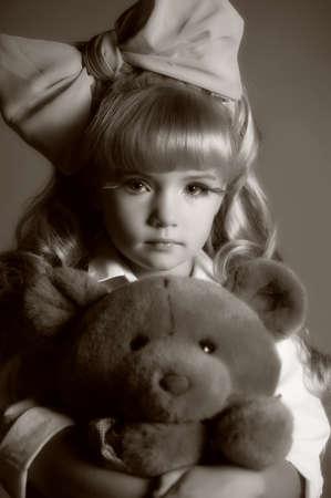 Children fashion doll blond girl Stock Photo - 13683154