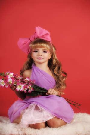 Children fashion doll blond girl Stock Photo - 13683140