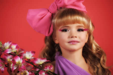 Children fashion doll blond girl Stock Photo - 13683138