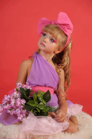 Children fashion doll blond girl Stock Photo - 13683147