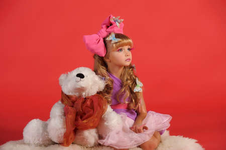 Children fashion doll blond girl Stock Photo - 13683141