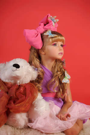 Children fashion doll blond girl Stock Photo - 13683146