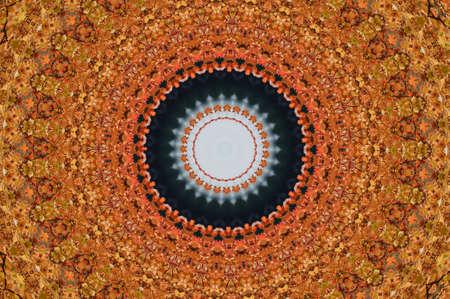 brown oriental ornament, mosaic Stock Photo - 11036396