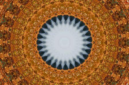 brown oriental ornament, mosaic Stock Photo - 11036394