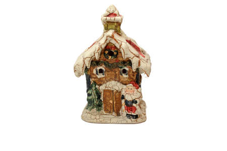 Ceramic Christmas House Stock Photo - 11498449