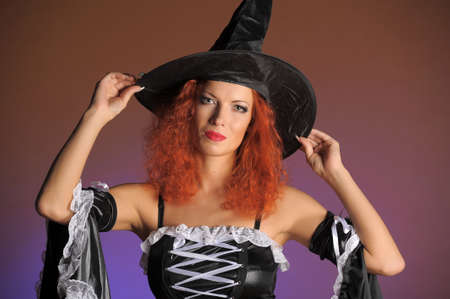 redheaded witch photo
