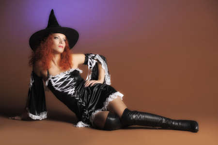 very: Sexy redheaded witch