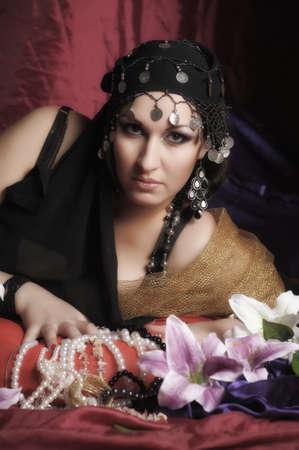 East woman  photo