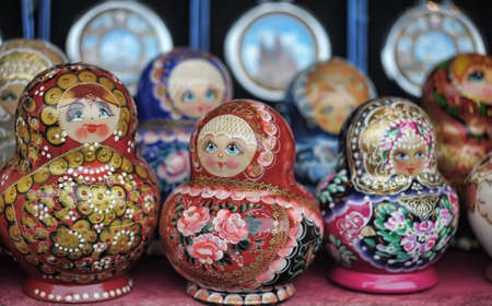 Russian nesting dolls  Stock Photo - 11268185