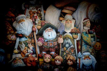 mu�ecas rusas: Foto de la Navidad con Santa Claus