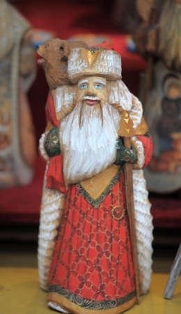 ded moroz: Christmas photo with Santa Claus