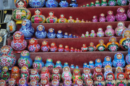 Russian nesting dolls  photo