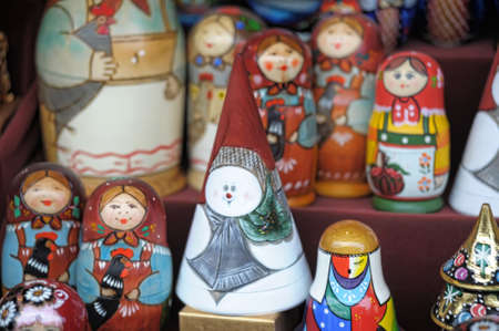 Russian nesting dolls  Stock Photo - 11268184