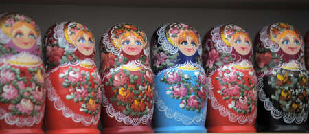 Russian nesting dolls  Stock Photo - 11268182