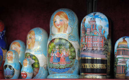 Russian nesting dolls Stock Photo - 11268188