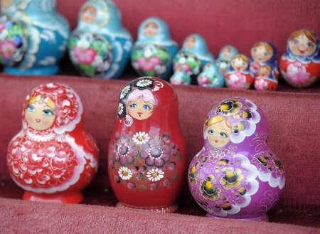Russian nesting dolls Stock Photo - 11268186