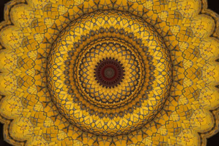 Yellow mosaic  photo