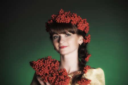 ashberry: Autumn portrait in studio