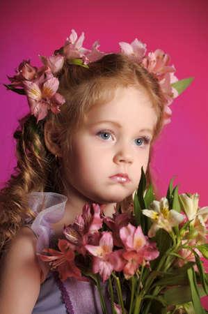 small flower fairy Stock Photo - 13304572