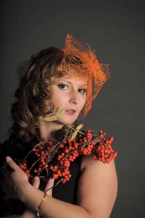 Autumn portrait in retro style Stock Photo - 11422366