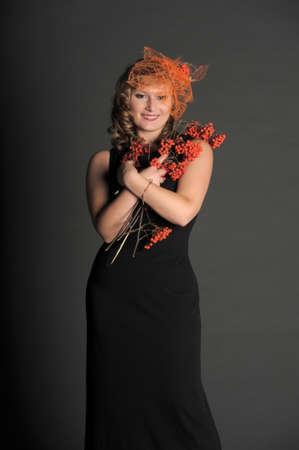 Autumn portrait in retro style Stock Photo - 11422353