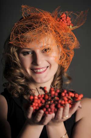 Autumn portrait in retro style Stock Photo - 11422368