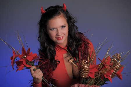 Female red devil photo