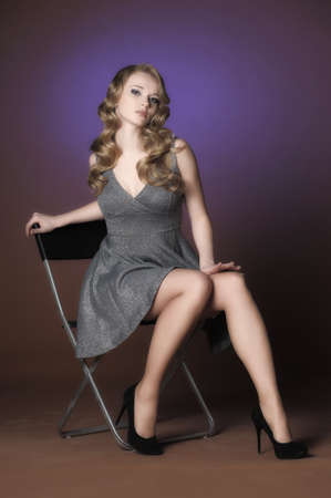 1940s Pinup Style Image photo