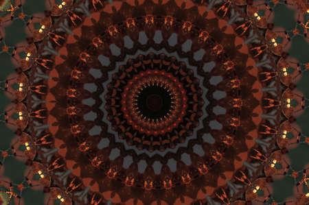 oriental ornament in dark colors Stock Photo - 17892609