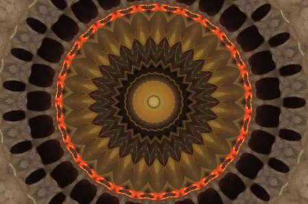 oriental ornament in dark colors Stock Photo - 17892605