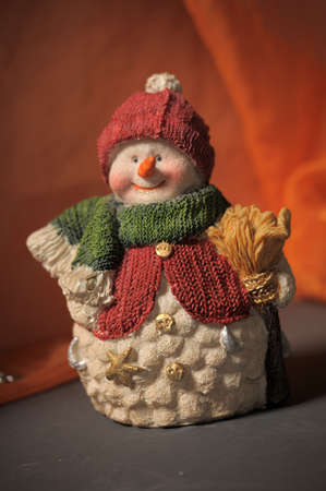 weihnachtsmann: snowman Stock Photo