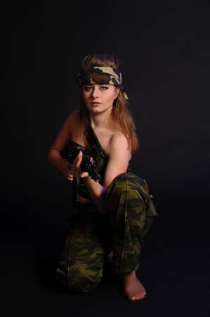 Warrior Woman  photo