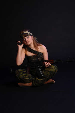 Warrior Woman Stock Photo - 11935474