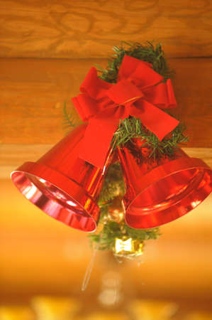 Red Christmas Bells photo