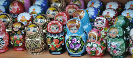 Russian nesting dolls Stock Photo - 11961156