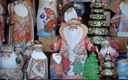 Christmas photo with Santa Claus photo