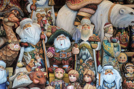 Christmas photo with Santa Claus Stock Photo - 11992627