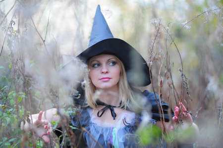 witch in the forest Stock Photo - 12052911