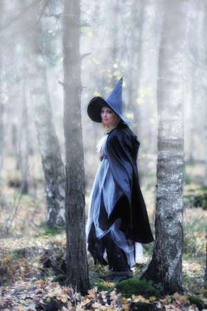 witch in the forest Stock Photo - 12052915