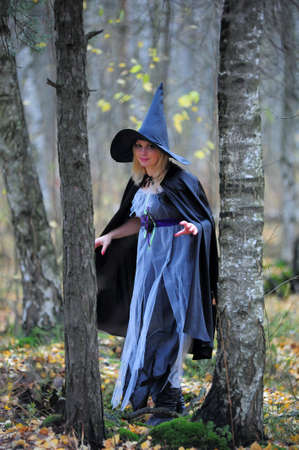 witch in the forest Stock Photo - 12052928