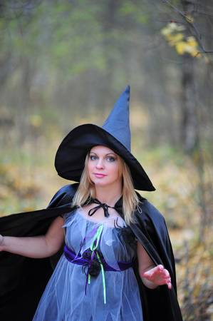 witch in the forest Stock Photo - 12052924