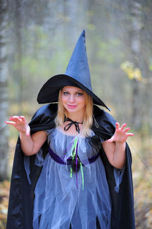 witch in the woods Stock Photo - 12052923